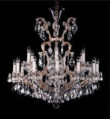 flames maria theresa crystal chandelier