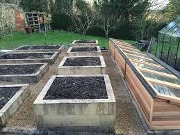 cold frames oak raised beds rt