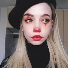 clown makeup idea for ecemella