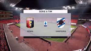 Genoa - Sampdoria 16° giornata Serie A pronostico Fifa 20 - YouTube