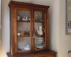 wallpaper background inside cupboard