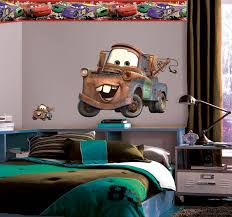 Wallhogs Disney Cars 2 Mater Room Makeover Wall Decal Wayfair