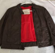 abercrombie fitch leather jacket curtsy