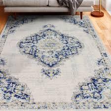 chupp ivory blue yellow area rug
