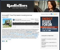PRESS: NPR's Radio Times features Kensington Renewal & Jamie ...