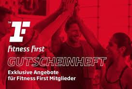 fitness first gutscheinheft