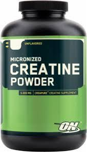 micronized creatine powder by optimum