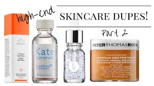 dupes for high end skincare part 2