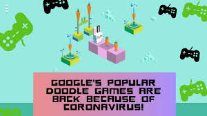 doodle games are back because ...