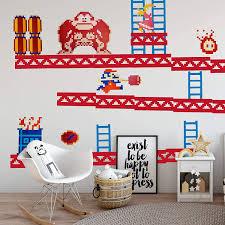 Amazon Com Donkey Kong Wall Stickers Arts Crafts Sewing