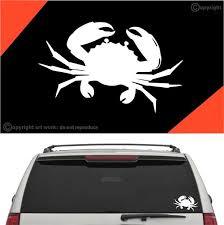 Crab Car Sticker Decal A1 Topchoicedecals