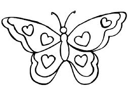 Een Mooie Vlinder Om In Te Kleuren Kleurplaten Dieren
