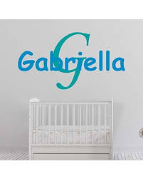 Don T Miss Out On These Deals On Girl S Custom Name And Initial Wall Decal Choose Your Own Name Initial And Letter Styles Multiple Sizes Girl S Custom Name And Initial Wall Decal Sticker