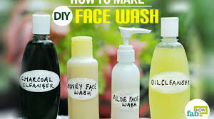 diy homemade face wash and cleanser for