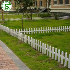 China Manufacturers Garden Fence Time Proof White Picket Fence Garden Edging Photos Pictures Made In China Com
