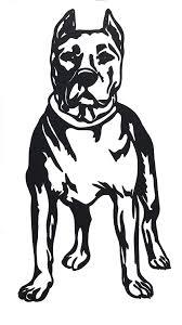 Pit Bull Decal Vinyl Sticker Pitball Dog Pitt Bully Pet Pick Size Color