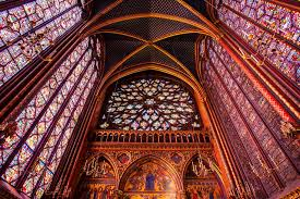 visiting sainte chapelle in paris france