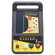 Zareba Systems 5 Mile Solar Low Impedance Fence Charger In The Electric Fence Chargers Department At Lowes Com