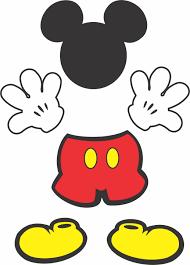 Partes Mickey Para Tubetes Aniversario Do Mickey Mouse