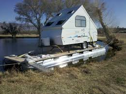 diy houseboat named y knot built for a