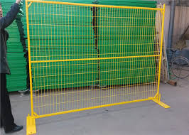 Assembled Canada Temporary Construction Fence Panels Galvanized Temporary Fencing