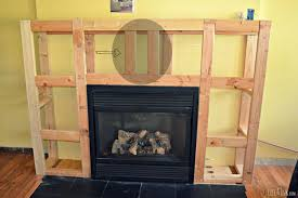 framing the electrical fireplace insert