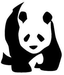 Panda Bear Vinyl Decal Sticker Car Window Wall Bumper Macbook Laptop Animal Ebay
