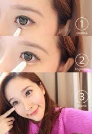 tutorial make up korea natural aegyo sal