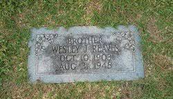 Wesley John Reaves (1903-1948) - Find A Grave Memorial