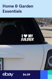 I Love My Soldier Vinyl Decal Car Window Bumper Sticker Car Decals Vinyl Bumper Stickers Vinyl Decals