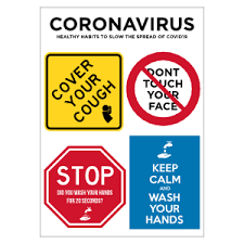 Coronavirus Stickers And Decals Promote Healthy Habits