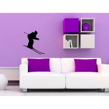 Shop Ski Skier Vinyl Wall Decal Overstock 8441710