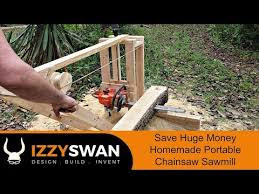 chainsaw mill from scratch