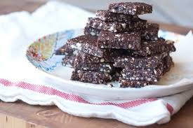chocolate hazelnut energy bars