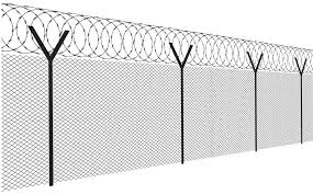 Download Barbed Wire Chain Link Barb Wire Fence Vector Png Image With No Background Pngkey Com