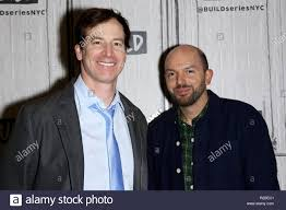 """NEW YORK, NY - FEBRUARY 23: Rob Huebel and Paul Scheer attend AOL Build  Presents to discuss """"Drive Share"""" at Build Studio on February 23, 2017 in  New York City. (Photo by"""