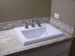 vitreous china bathroom sink