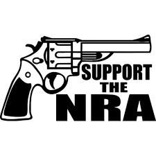 Support The Nra Decal Sticker Support The Nra Thriftysigns