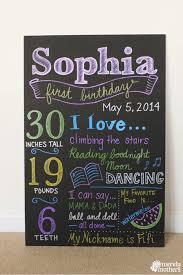 diy birthday chalkboard diy birthday