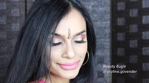 easy indian wedding guest makeup
