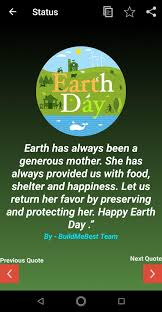 earth day wishes quotes poems greeting cards for android apk