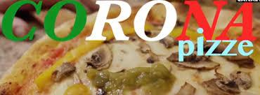Pizza e coronavirus, il video