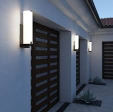 modern outdoor wall lighting