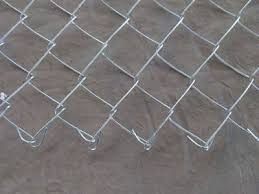 Galvanized Chain Link Fence Wire Diameter 0 5 4 Mm
