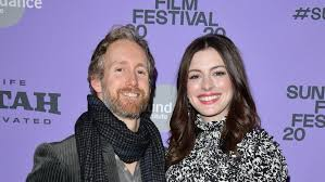 Anne Hathaway Makes Rare Public Appearance With Husband Adam Shulman at  Sundance Film Festival | Entertainment Tonight