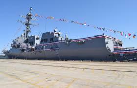 USS Ralph Johnson prepared for commissioning > Charleston Business ...