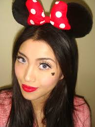 minnie mouse makeup look for