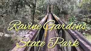 ravine gardens state park you