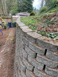 Leaning Retaining Wall Can I Fix Myself Fixit