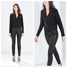 faux leather skinny trousers 4a06aaf6a0
